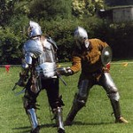 Sparring knights
