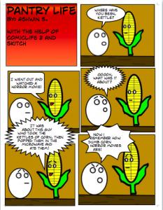 Pantry Comic