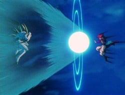 An energy blast The Big Bang Kamehameha!