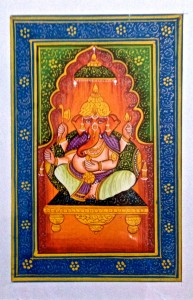 Ganesh Miniature Painting Oct 2014